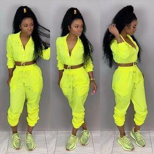 Lime 2pc set